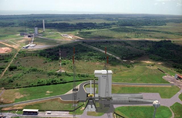 Aire de lancement destinée à Vega ; crédits CNES/J.Huart